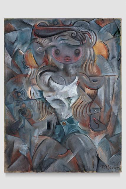 , 'Composition in Blue and Grey,' 2018, ODD ARK•LA