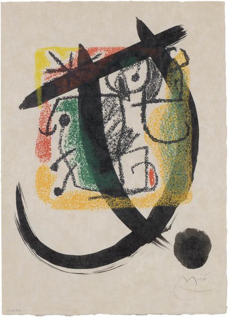 Joan Miró, 'Les Essències De La Terra (Mourlot 576; See Cramer Books 123)', 1968, Doyle