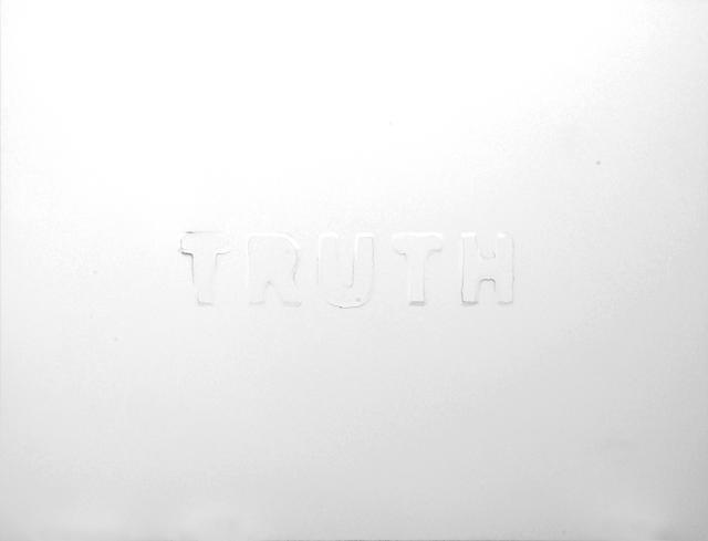 , 'Truth,' 2010, Galeria Filomena Soares