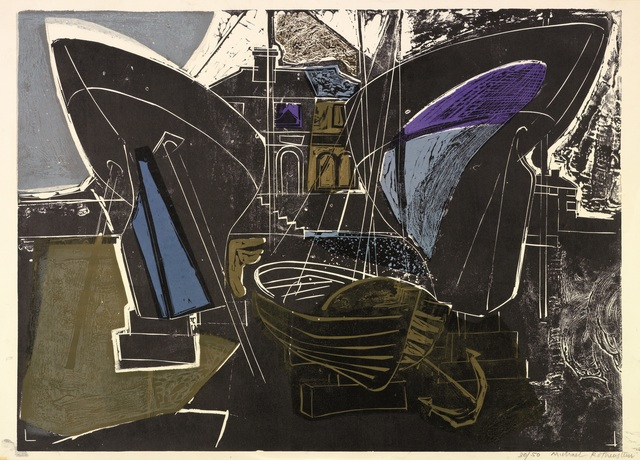 Michael Rothenstein, 'Boats at Burnham on Crouch (Essex Coast)', 1956, Osborne Samuel