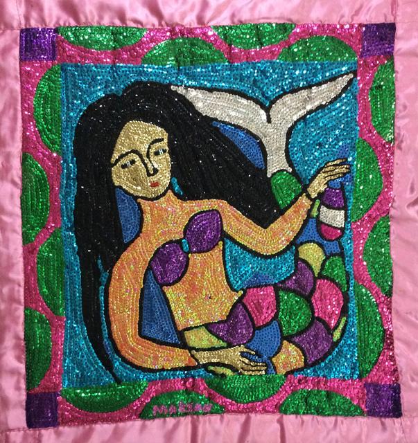 , 'La Sirene#2MFN,' 2017, Myriam Nader Haitian Art Gallery