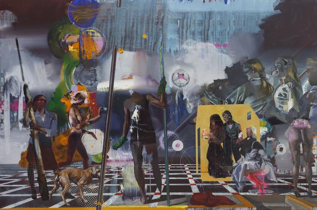 , 'Der Schaitrain,' 2015, Josef Filipp Galerie