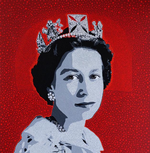 , 'Queen of England,' 2019, HG Contemporary
