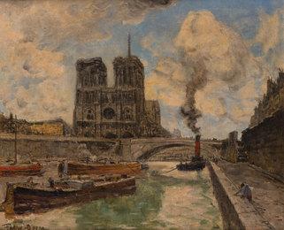 Paris la Seine, les Quais Notre Dame