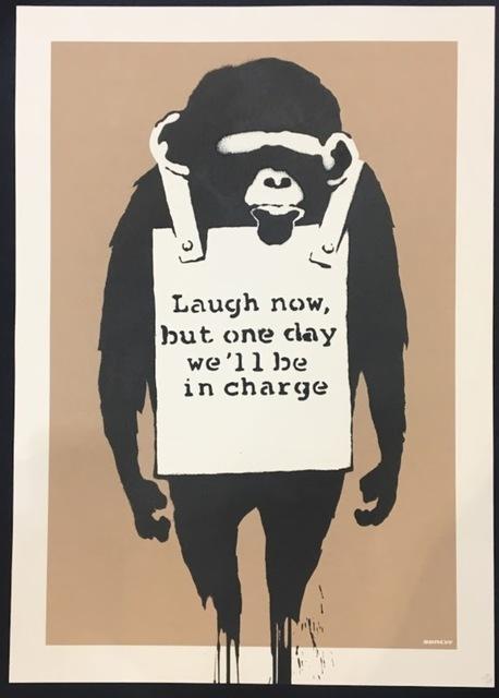Banksy, 'Laugh Now (Unsigned)', 2004, Prescription Art