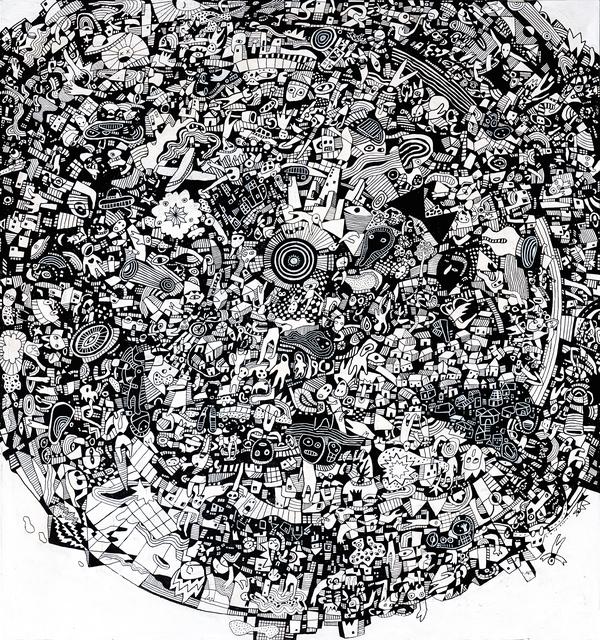 , 'Chaosphere,' 2018, Mizuma Art Gallery
