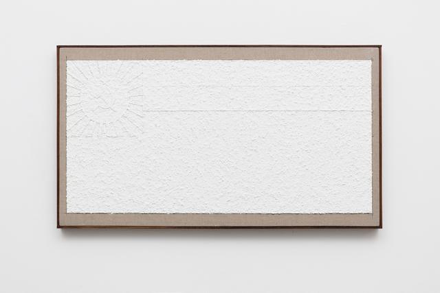 , 'Untitled (White Flag),' 2016, Galerie Nordenhake