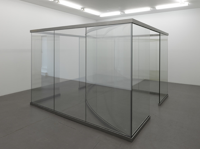Dan Graham, 'Square Bisected by Curve', Galleri Nicolai Wallner