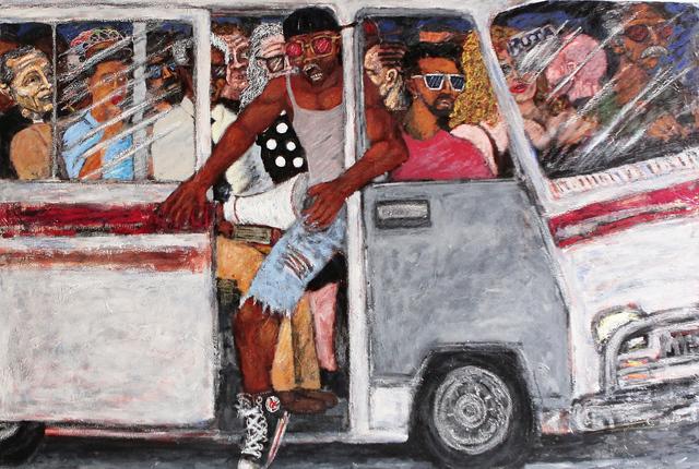 , 'La Guagua, Serie de Transporte urbano (The bus from the urban transport series),' 2016, Arte Berri