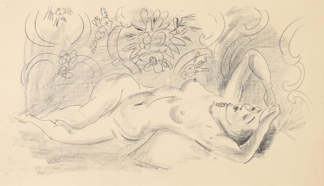 , 'Nu. Étude de torsion du corps,' 1926, Bernard Jacobson Gallery
