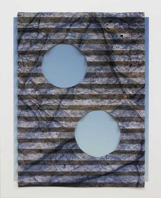 Letha Wilson, 'Folded Rock Sky Holes', 2019, Galleria Anna Marra