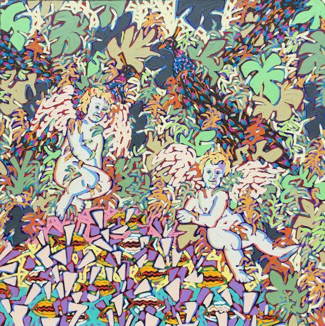 , 'Peacocks,' 1987, Thomas Deans Fine Art