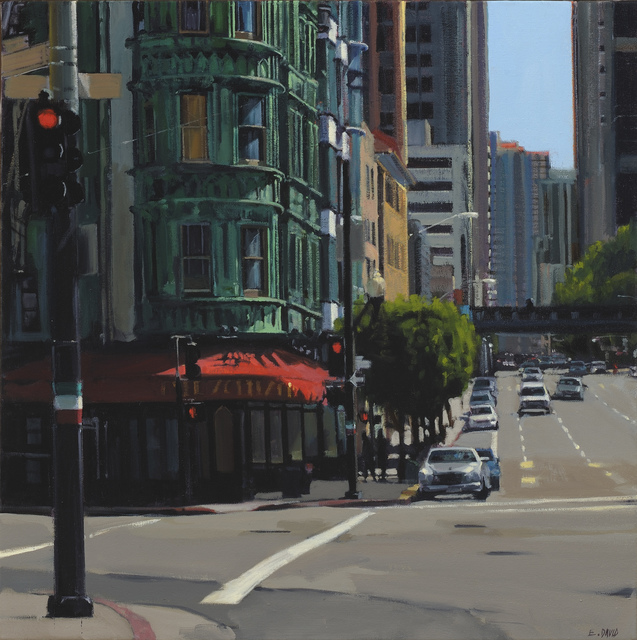 , 'Downtown Cafe,' 2014, Paul Thiebaud Gallery