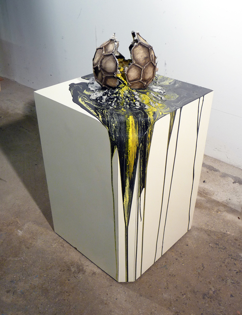 , 'Imploded Ball Barf (Corner Curve),' 2011, Federica Schiavo Gallery