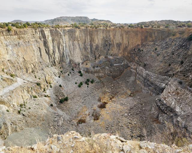 , 'Jagersfontein Mine (1871 - 1969), 9.52 million carats of diamonds extracted,' 2014, Gallery MOMO