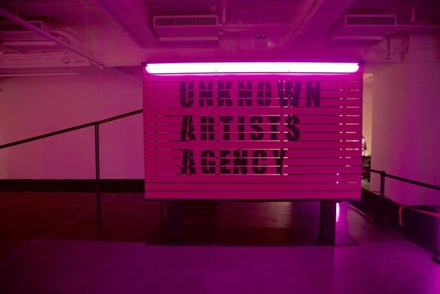 , 'Unknown Artists Agency,' 2017, de Sarthe Gallery