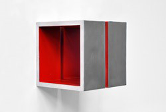 , 'Split Cube (Red),' 2015, William Campbell Contemporary Art, Inc.