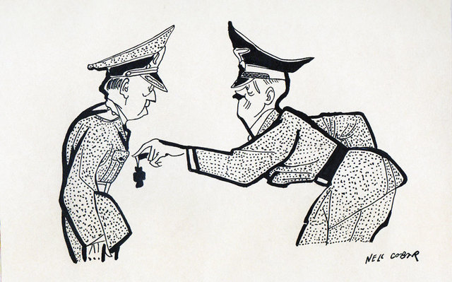 , 'Ion Antonescu and Hitler,' ca. 1953, Nasui Collection & Gallery