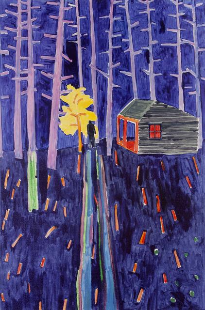, 'Burning Bush,' 2014, Flowers