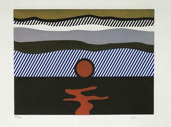 """Roy Lichtenstein, 'Illustration for """"De Nouveau au-dessus de Denver""""', 1992, Vertu Fine Art"""
