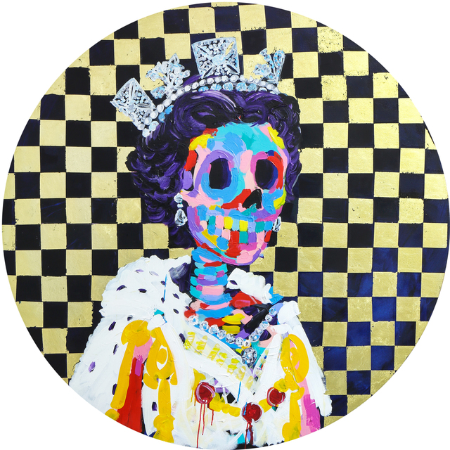 , 'Chequered Queen ,' 2017, Maddox Gallery