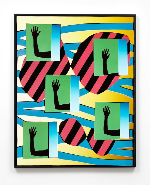 , 'Five Hands 1,' 2017, M+B