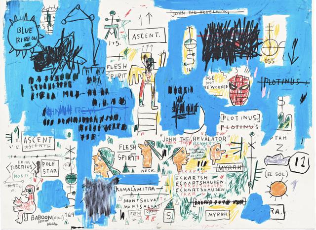 Jean-Michel Basquiat, 'Ascent', 1982-1983/2017, Hang-Up Gallery