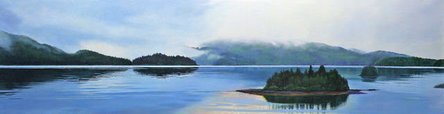 , 'Island 1 / Skidegate inlet,' 2016-2018, Wallace Galleries