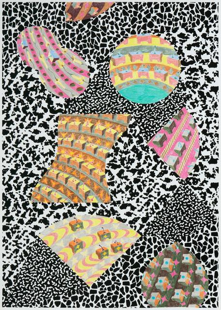 Gabriel Acevedo Velarde, 'Patterns and Parliaments VI', 2019, 80M2 Livia Benavides