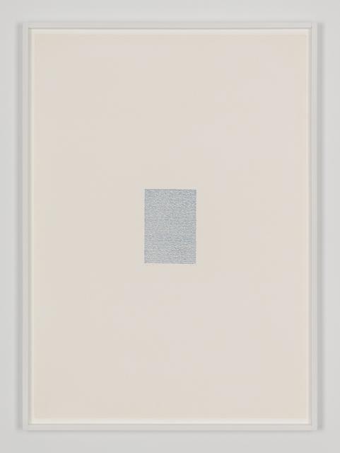 , 'Eigenschriften, Pagina S-16,' 1970, Galerija Gregor Podnar
