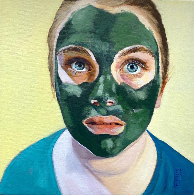 Ellen Starr Lyon, 'Algae Mask: Those Eyes', 2019, 33 Contemporary