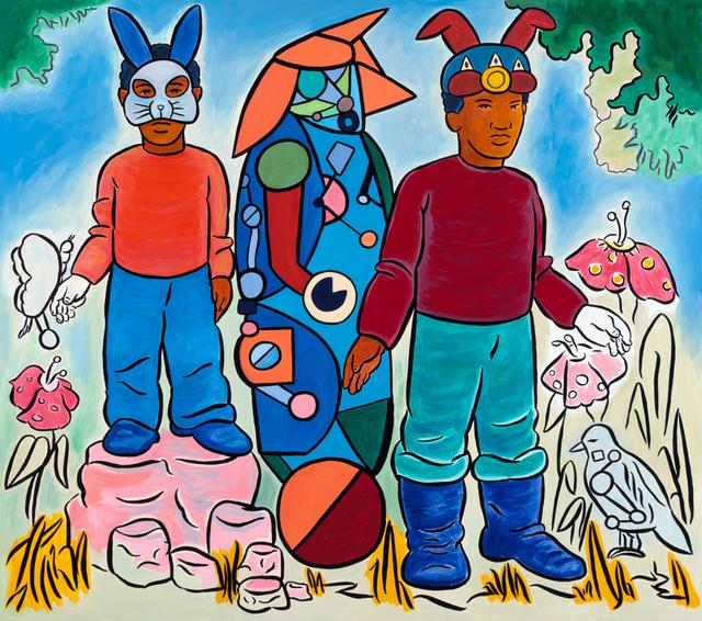 , 'All Assembled,' 2015, Rena Bransten Gallery