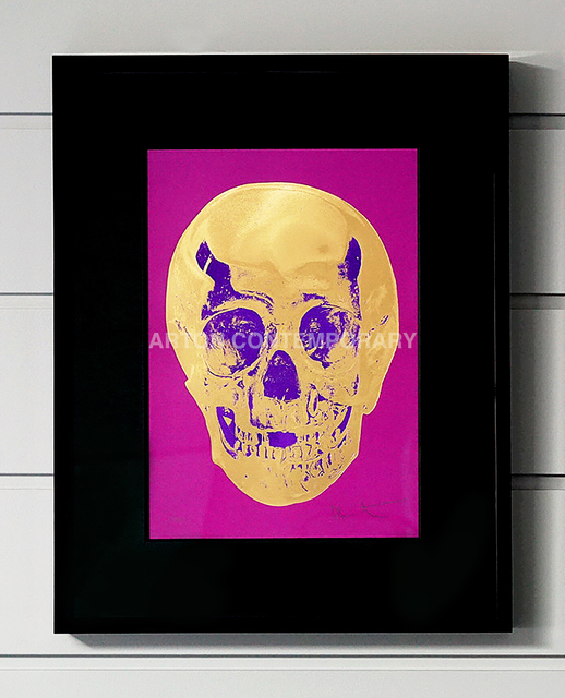 Damien Hirst, 'Skull, Fuchsia/Purple', 2012, Arton Contemporary