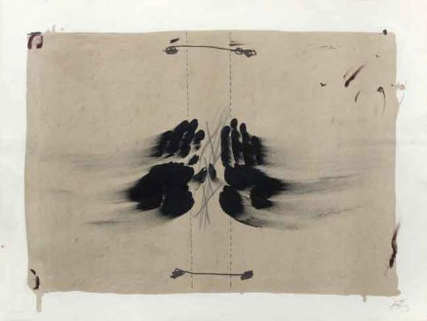 Antoni Tàpies, 'Nocturno Matinal', 1970, Print, Mixed Media, Kunzt Gallery