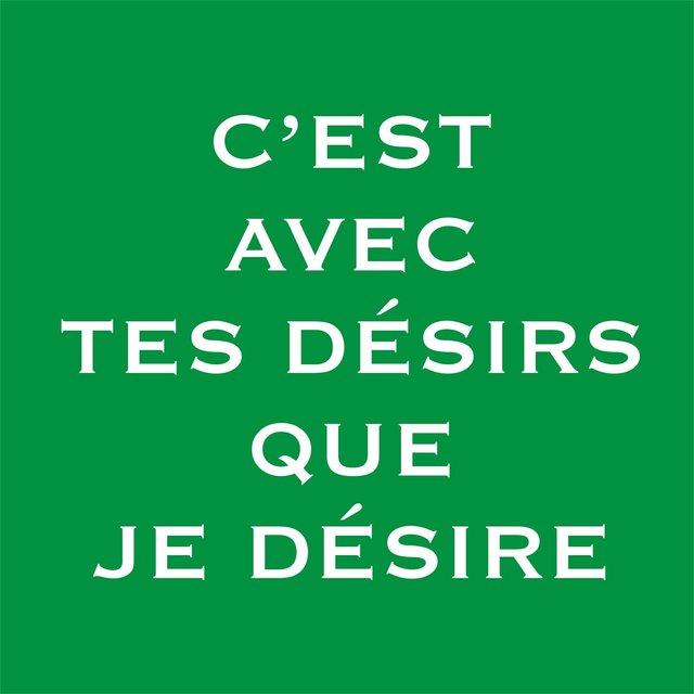 """, '""""C' est avec tes désirs que je désire"""",' 2003-2005, PALMADOTZE"""