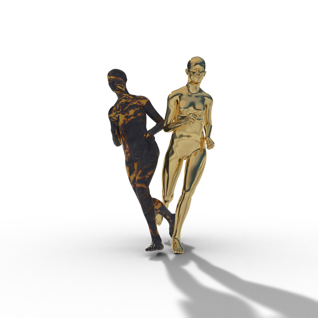 , 'The Runners I,' 2019, INAOSSIEN Art