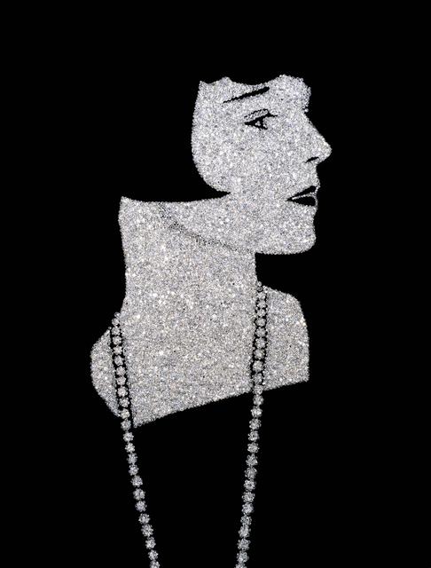Vik Muniz, 'Louise Brooks (Pictures of Diamonds)', 2005, Xippas