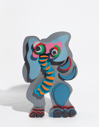 Standing Elephant, from Circus Series