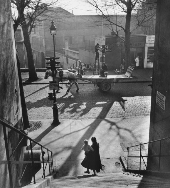 , 'Avenue Simon Bolivar,' 1950, Argentic