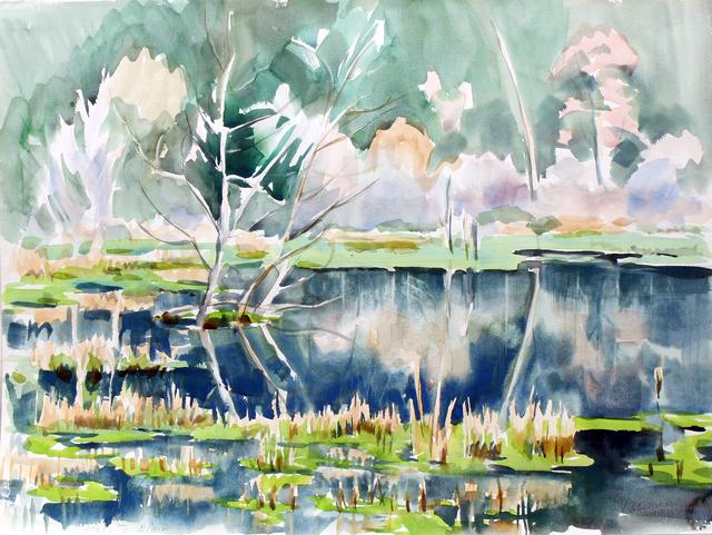 , 'Swamplands,' , Benjaman Gallery Group