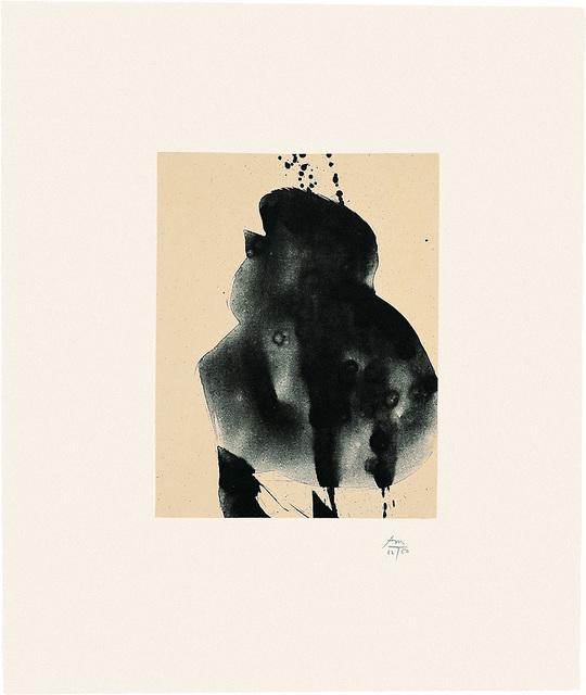 , 'Octavio Paz Suite: Nocturne III,' 1988, Bernard Jacobson Gallery