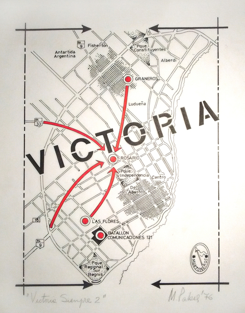 , 'Victoria siempre,' 1976, Herlitzka + Faria