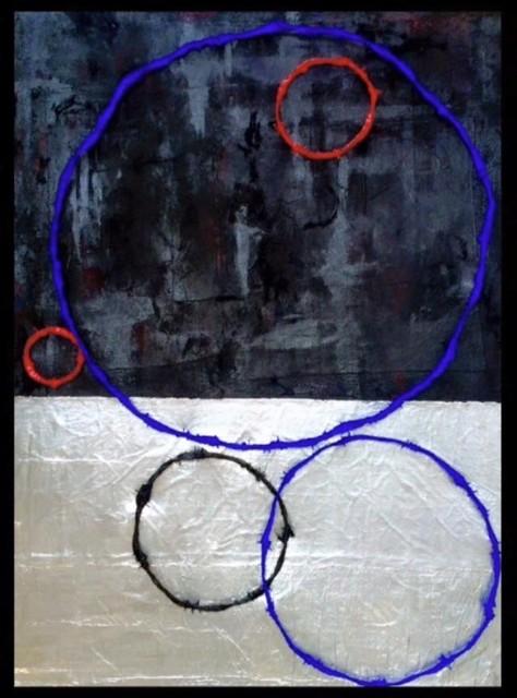 , 'Ring Painting #2,' 2015, InLiquid