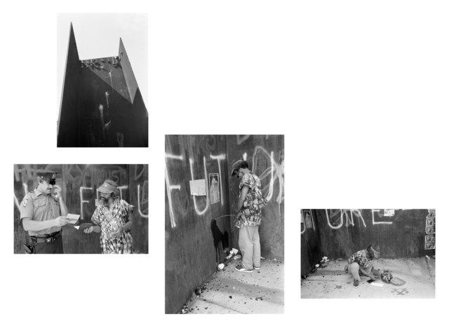 , 'David Hammons, Pissed Off,' 1983, Rena Bransten Gallery
