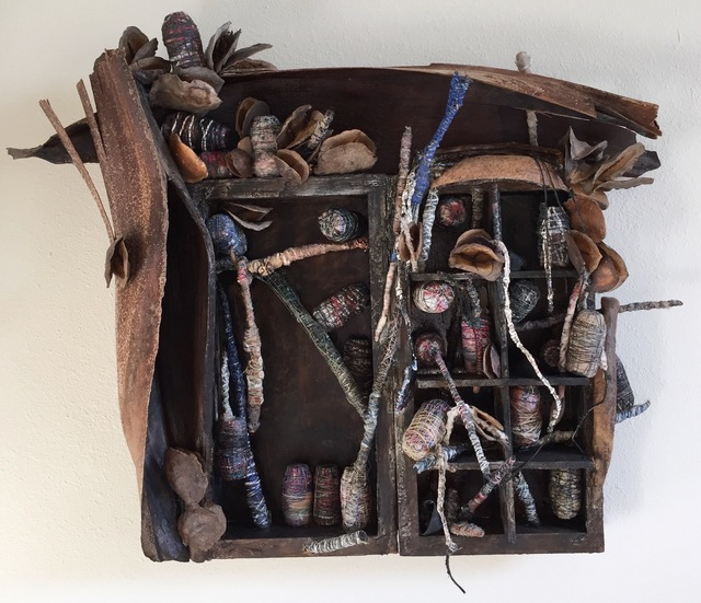 ", '""Wrapped"" Cabinet,' 2014, Osceola Gallery"