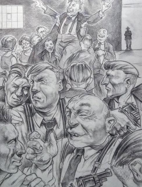 , 'American Politics,' 2018, The Secret Gallery