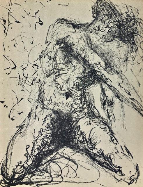 "Salvador Dalí, 'Homage to Meissonier, "" Nu Gris""', 1967, Print, Original Lithograph, Inviere Gallery"