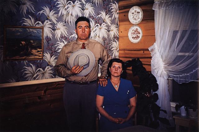 , 'Americans in Kodachrome 1945-65, Dakota Couple, Rapid City, South Dakota.  Photographer: Guy Van Nice,' 1953, ROSEGALLERY