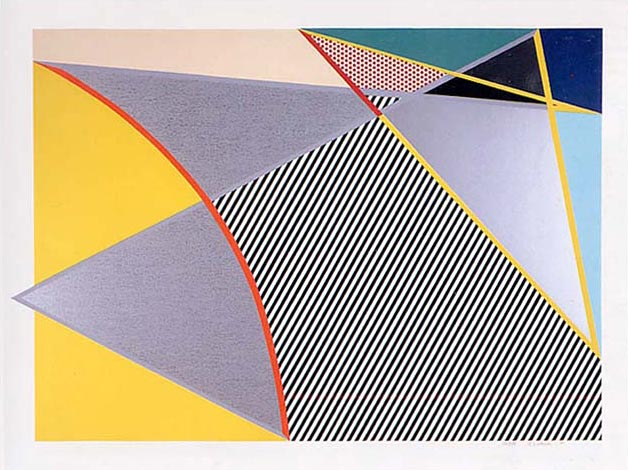 Roy Lichtenstein, 'Imperfect 223', 1988, Print, Woodcut with screenprint and collage in colours, on 3-ply Supra 100 paper, Artsy x Rago/Wright