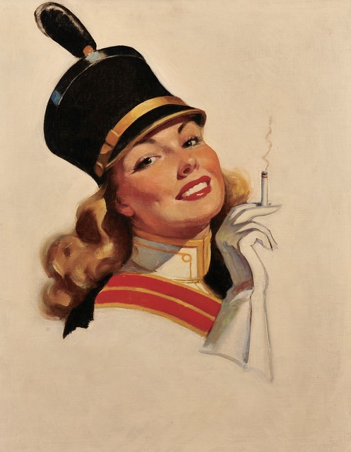 Bradshaw Crandell, 'Cigarette Advertisement', ca. 1940, The Illustrated Gallery